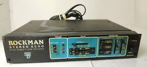 Vintage Rockman Stereo Echo Effects Processor Tom Scholz SR&D