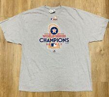 Men's 2017 Houston Astros World Series Champions Gray Polo Shirt Jersey 3XL 2018