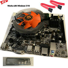 Intel i7 3.8GHz Quad-Core 16GB HDMI Motherboard CPU RAM Desktop Gaming PC Combo