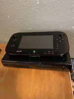 Nintendo Wii U 32GB Console - Black+ 2 games RRAD DESC