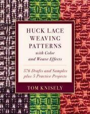Huck Lace Weaving Patterns with Color and Weave Effects: 576 Drafts and Sam.