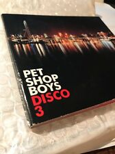 Pet Shop Boys Disco 3 CD Album Promo UK Import