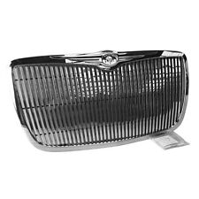 Fits 2005-2010 Chrysler 300 300C Chrome Vertical Phantom Style Front Grille