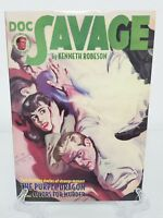 Doc Savage The Purple Dragon Colors For Murder Prose Book Soft Cover TPB New