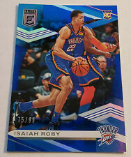 2019-20 Donruss Elite Isaiah Roby #75/99 Blue Refractor Rookie Single Card