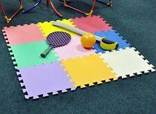 9pcs Kids Baby Children Soft Foam Play Mat Set Indoor & Outdoor Garden