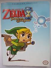 The Legend of Zelda Phantom Hourglass - Link Nintendo Game Guide Good Condition