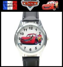 Montre à quartz NEUVE Bracelet Cuir ! ( Watch ) - Cars