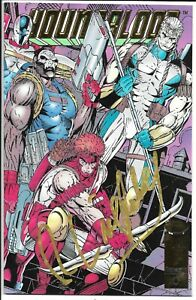 YOUNGBLOOD #0 GOLD FOIL VARIANT NM SIGNED ROB LIEFELD IN GOLD SUPER SCARCE IMAGE