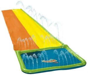 Wham-O Slip'N Slide Hydroplane Double XL with Two Boogie Boards
