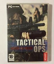 Jeu PC FPS TACTICAL OPS Assault On Terror
