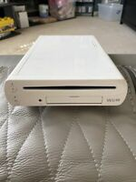 Nintendo Wii U 32GB WUP-101(02) White Console Only For Part Or Repair