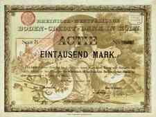 Rheinisch Westfälische Boden Credit Bank 1895 Köln Frankfurt Lone Star 1000 RM B