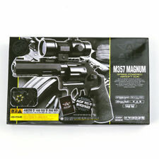New ACADEMY SW M357 Airsoft Pistol BB Revolver Gun 6mm Spring ABS Smith & Wesson