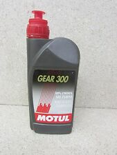 MOTUL GEAR 300 75W90 FULL SYNTHETIC TRANMISSION GEARBOX OIL