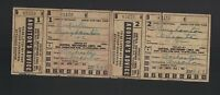 Central Greyhound Lines 1943 Ticket & Auditor's Advice Rochester to Oneonta NY
