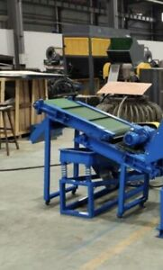 Magnetic conveyor overband magnet, magnetic separator conveyor NEW.