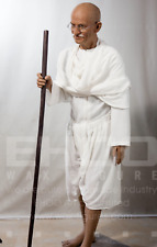 Life Size Gandhi God Movie Wax Statue Realistic Prop Display Figure 1:1