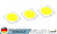 3 Stück LED LEDs 3Watt 6000-6500K 260mA 10V für Arduino Raspberry Pi basteln