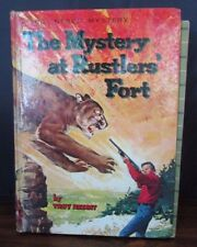 The Mystery at Rustlers' Fort by Troy Nesbit Whitman Hardcover 1964