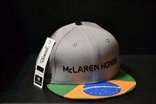 McLaren Honda formula 1 2017 Alonso & Vandoorne Speсial Edition Brazil Cap S/M