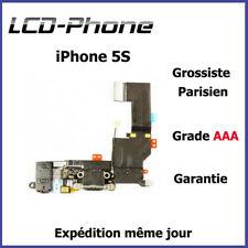 iPhone 5S - Connecteur de charge + Antenne GSM + Prise Jack + Micro - Noir