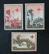CKStamps: Italy Stamps Collection San Marino Scott#305-307 Mint LH OG