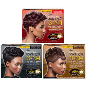 Luster's Shortlooks Colorlaxer 3 N 1 Color Relax & Condition Semi Permanent Hair