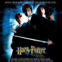 HARRY POTTER THE CHAMBER OF SECRETS 2 CD NEW SEALED JOHN WILLIAMS SOUNDTRACK