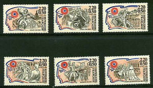 SERIE TIMBRES 2564-2569 NEUF XX LUXE - REVOLUTION FRANC