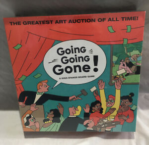 Going, Going, Gone! A High-Stakes Board Game by Simon Landrein Sealed New