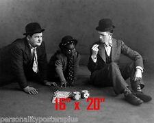 Laurel & Hardy~Little Rascals~Farina~Dice~Craps~Photo~Gambling~ 16
