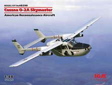 Icm 1 48 Cessna O-2a Skymaster American Reconnaissance Aircraft