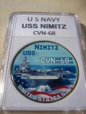 US NAVY - USS NIMITZ CVN-68 Commemorative Challenge Coin