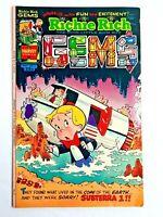 Vintage 1975 RICHIE RICH  GEMS  #5 comic book Harvey Comics