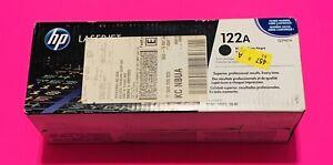 Genuine HP 122A BLACK Toner Cartridge Q3960A - New Sealed!