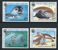 Mauretanien MiNr. 871-74 postfrisch MNH Robben WWF (H904