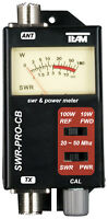 Team 6100 SWR-PRO-CB Meter 20 to 50 MHz with 60cm Patch Lead