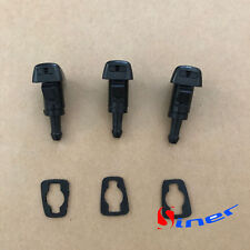 3x Windshield Washer Wiper Spray Fluid Nozzle for Chrysler Dodge Ram Charger 300
