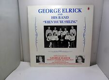 GEORGE ELRICK AND HIS BAND WHEN YOU'RE SMILING REGAL RECORDS GCE1 VINYL LP