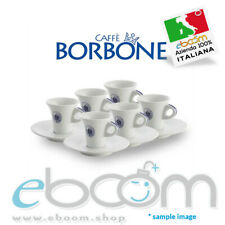 Tazzine Caffè Borbone - 6 Tazzine Con Piattino