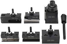 0xa Wedge Type Quick Change Tool Post Set For Mini Lathe Up To 6 9 In Swing Oxa