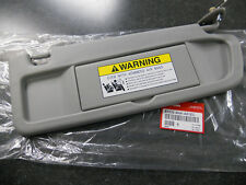 2006-2008 GENUINE HONDA CIVIC PASSENGER SIDE CLEAR GRAY SUN VISOR NH220L