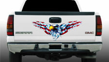 """Let Freedom ring Eagle tailgate Decal 15""""x40"""",make america great,flag,usa,trump"""