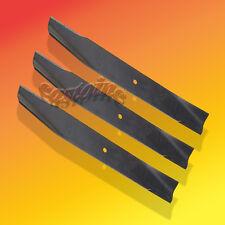 "3 Mower Blades  Fits AYP Sears 106635X, 25034 and 25034R  44"" Cut Deck"