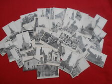 LOT DE 63 CARTES POSTALES LES DIFFERENTES EGLISES DE PARIS