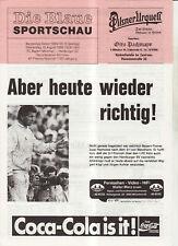 BL 89/90 FC Bayern München - Hamburger SV (Blaue)