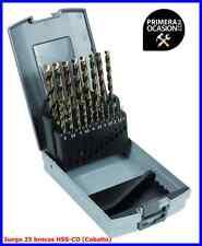 Juego 25 brocas HSS-CO (Cobalto), tienda Primeraocasion