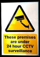 CCTV self adhesive sticker