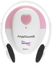 Angelsounds Fetal Doppler JPD-100S Baby Heart Monitor FDA Approved USA, Pink